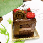 「PATISSERIE_TOOTH_TOOTH」さんのルビーキューブショコラ